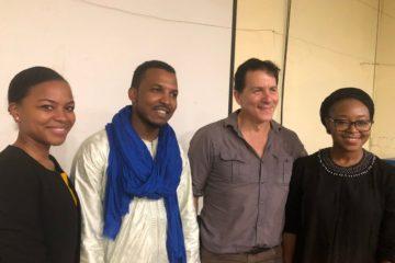 chercheur palentologue Niger