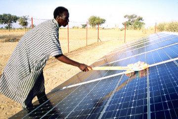 Panneaux solaires Niger