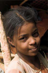 jeune fille touaregue
